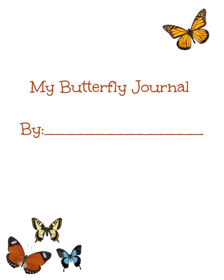 Butterfly Journal Free Printable