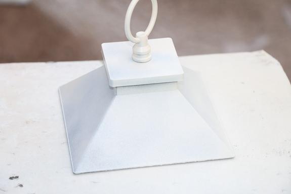 painting top of lantern