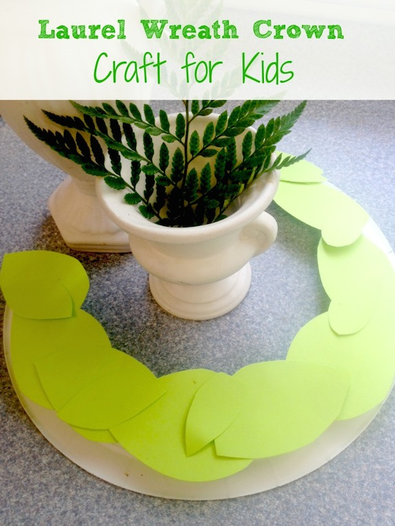 DIY Laurel Wreath Crown - Life. Family. Joy