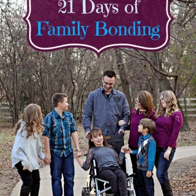 21 Days of Family Bonding