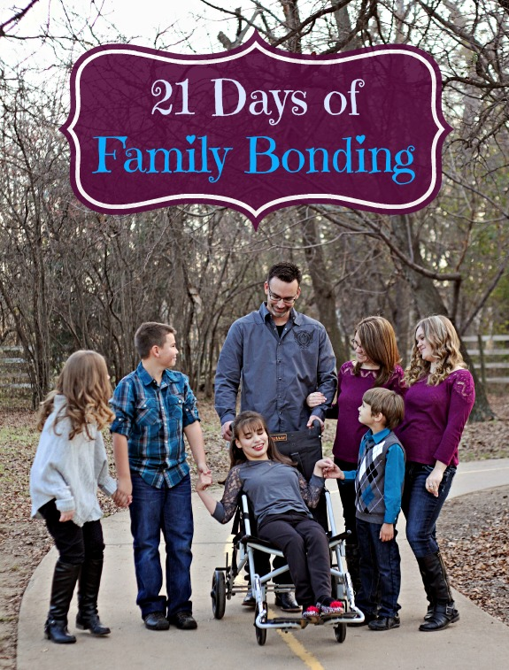ways to bond with your family with kids of all ages