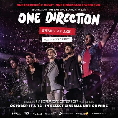 One Direction: Where We Are Concert Event Giveaway