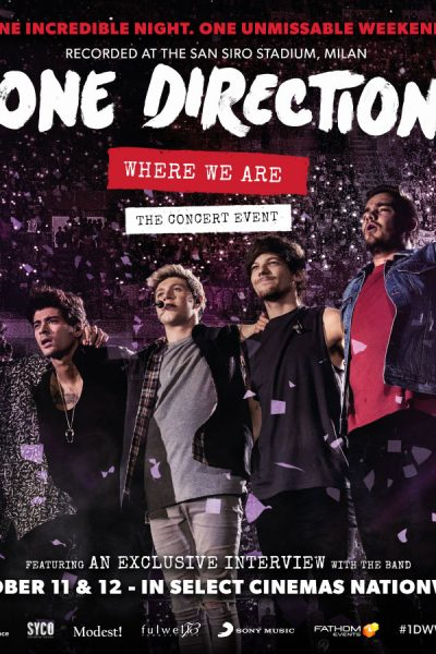 ONE DIRECTION WHERE WE ARE-THE CONCERT EVENT Giveaway
