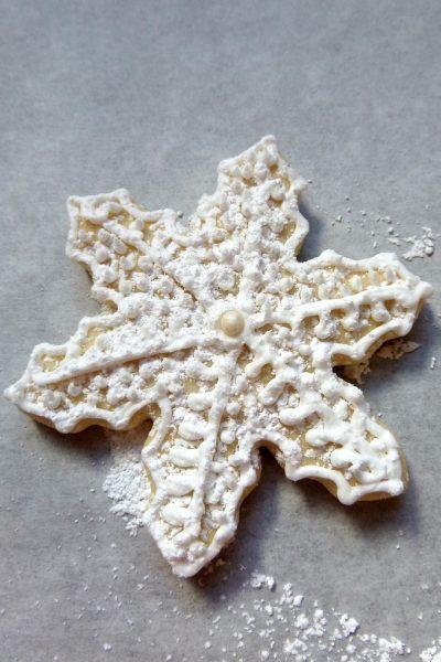 Easy Snowflake Sugar Cookie