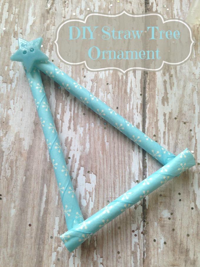 Straw Tree Ornament