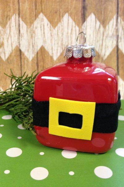 DIY Santa Claus Holiday Ornament