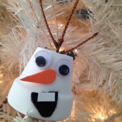 DIY Disney's Frozen Olaf Christmas Ornament