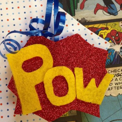 DIY Superhero Christmas Ornament