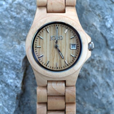 Simple Fashion with JORD Wood Watch