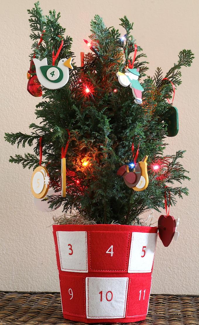ProFlowers 12 Days of Christmas Tree