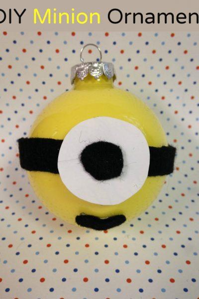DIY Minion Christmas Ornament