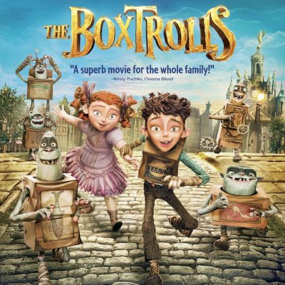 The Boxtrolls on Blu-Ray and DVD