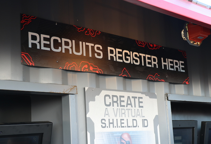Recruits register for SHIELD