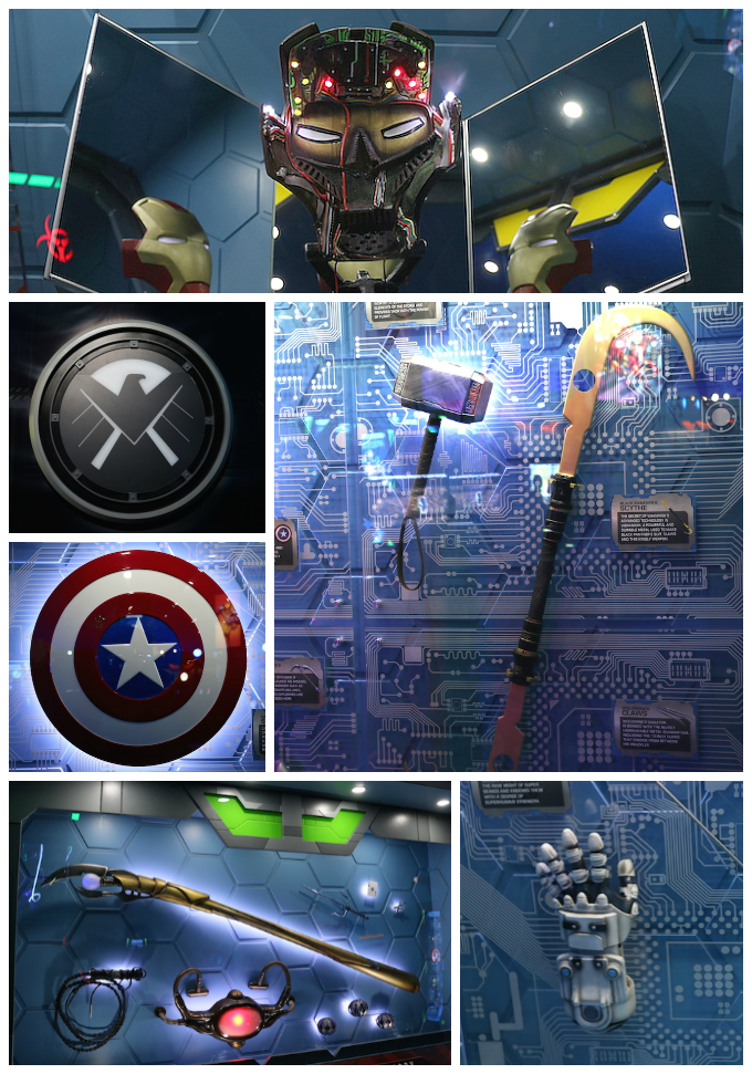 Marvel Props Collage