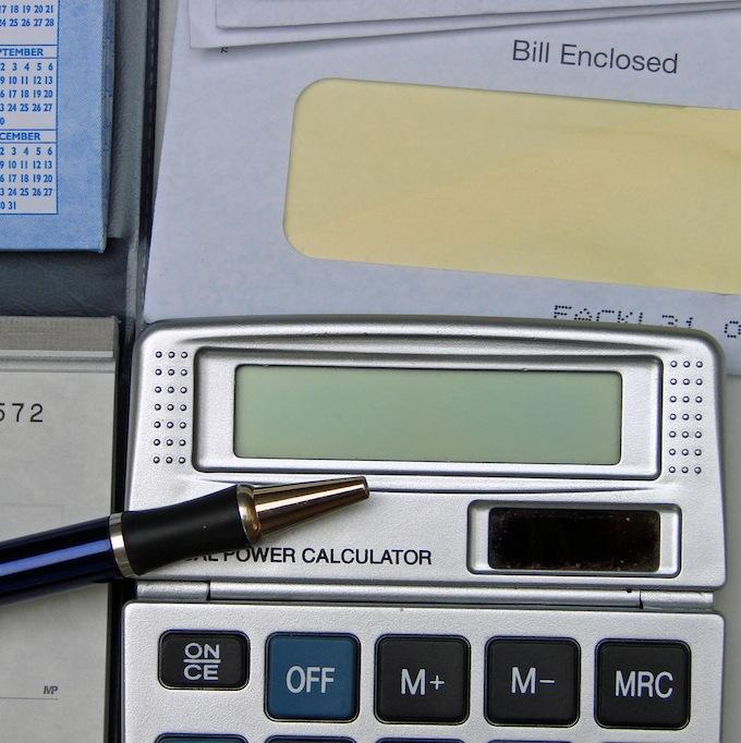 Paying Bills - Setting Budget