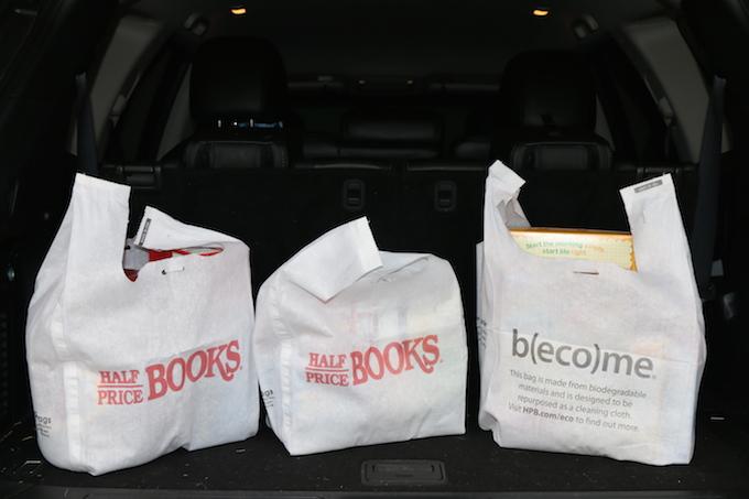 RagBags at Half Priced Books