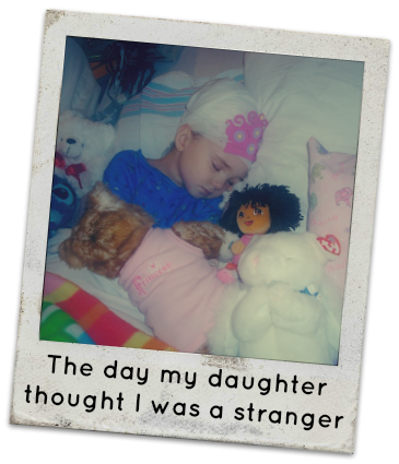The day my child thought I was a stranger, child with amnesia