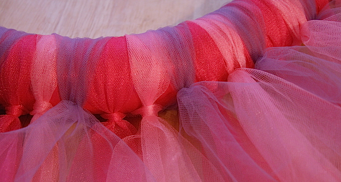 How To Make A Tulle Wreath Life Family Joy