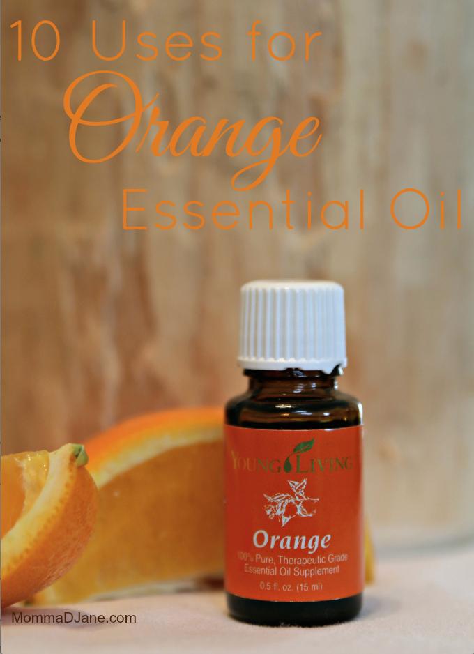 10 Uses for Orange Essential Oil