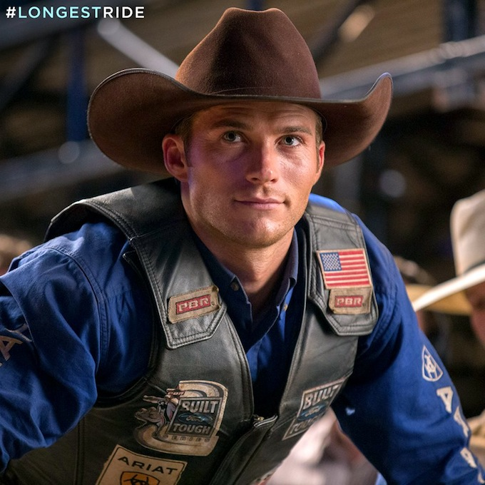Scott Eastwood in The Longest Ride as PBR rider