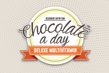 20 Years' of Chocolate a day Deluxe Multivitamin Giveaway