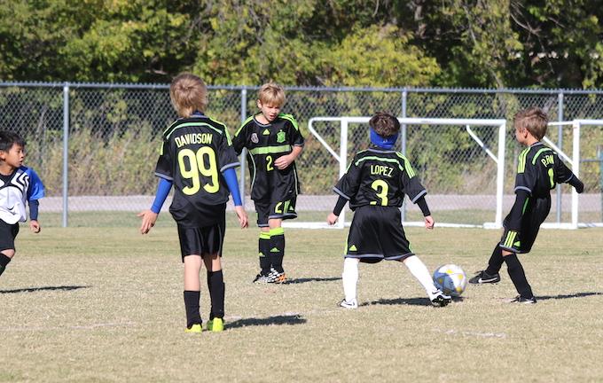 boys youth soccer