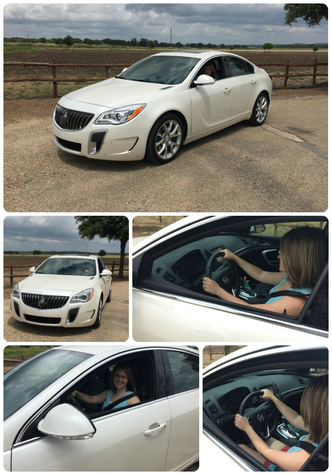 2015 Buick Regal Photo Collage