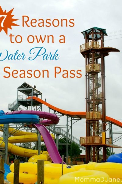 Top 7 Reasons to Own a Water Park Season Pass