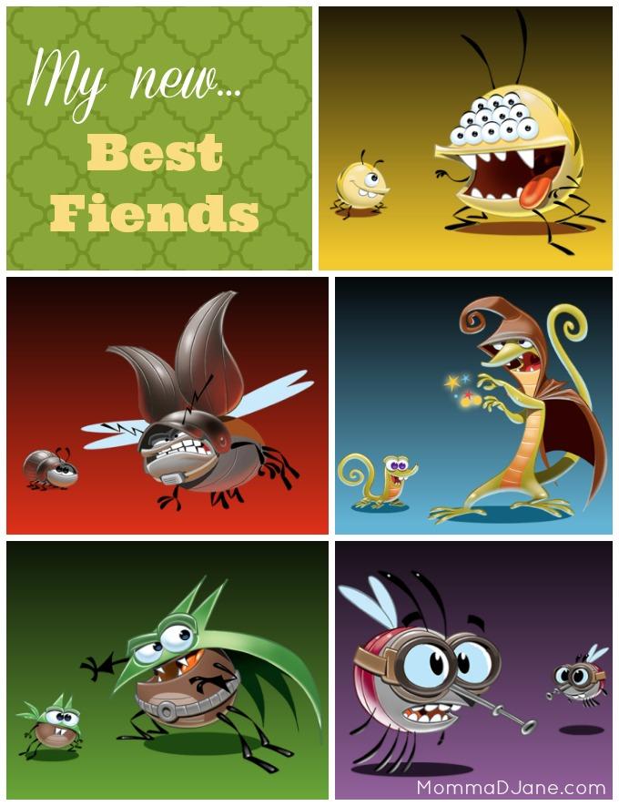 Best Fiends Collage