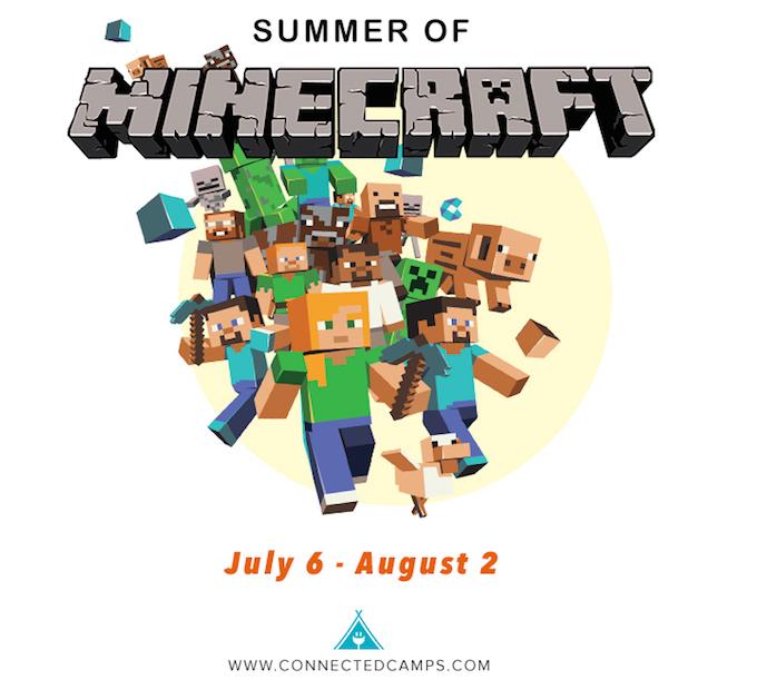 Summer 2015 Minecraft Camp for Kids