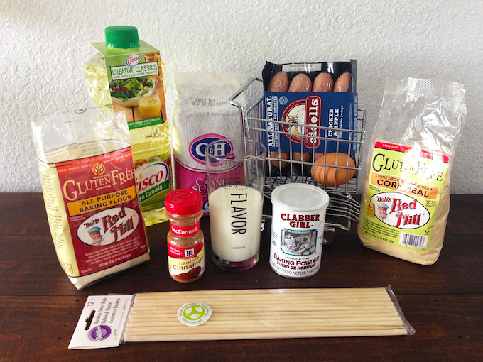 Chicken Sausage Corn Dog Ingredients #2