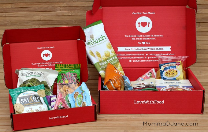 Love with Food Subscription Boxes