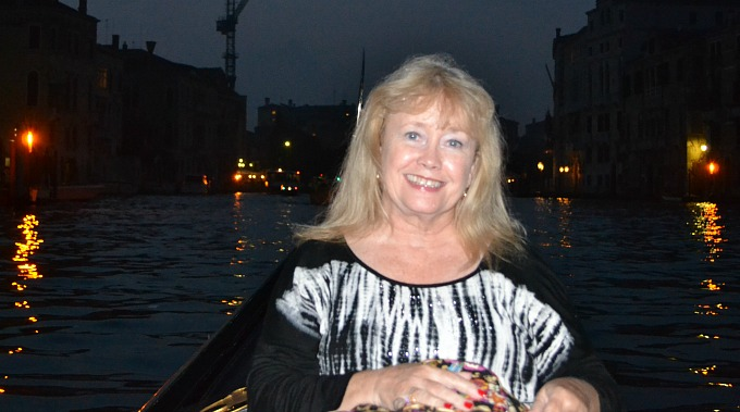 Mom on Gondola