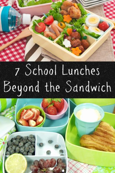 7 School Lunches to Pack Beyond the Sandwich