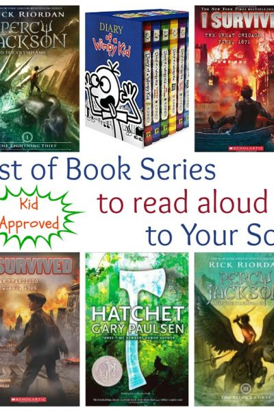 Chapter Book Series to Read Aloud to your Son