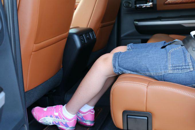 Tundra CrewMax Cab Leg Room