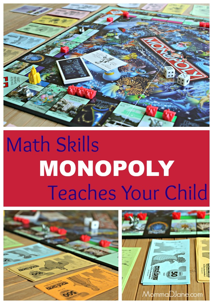 Math Skills Monopoly Teaches Your Child