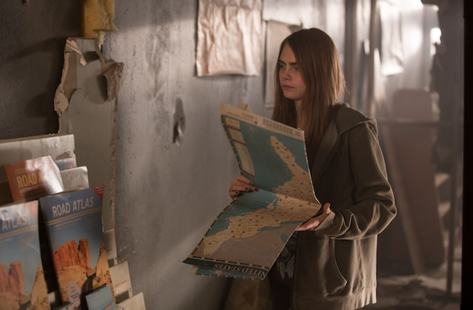 PAPER TOWNS - travel