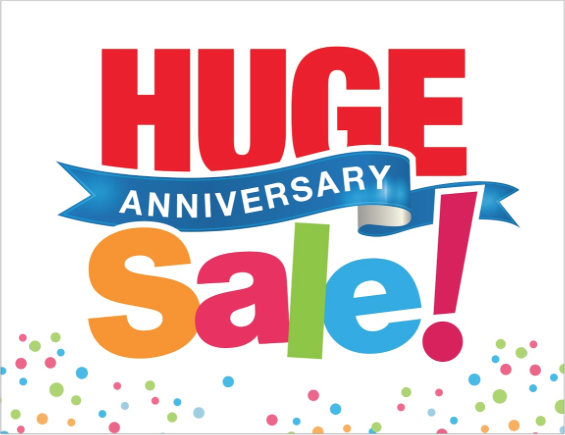 Anniversary Sale at Albertsons