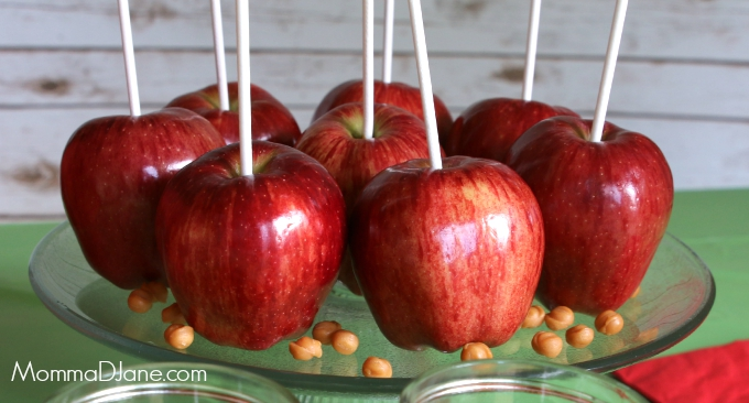 Apples on a Stick