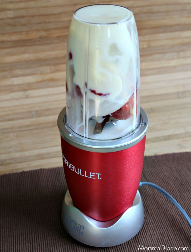 How to Make a Strawberry Cream Smoothie