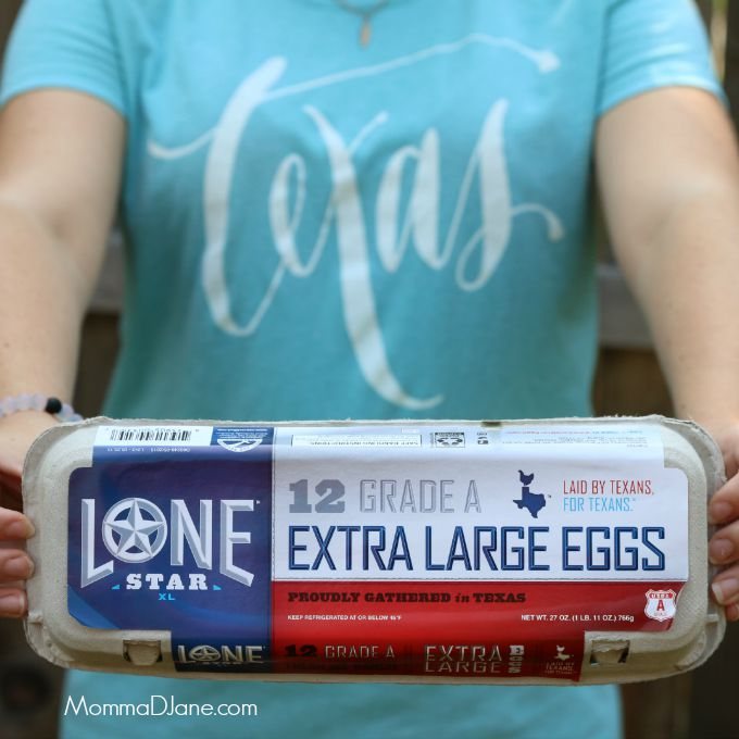 Texas Lone Star Eggs