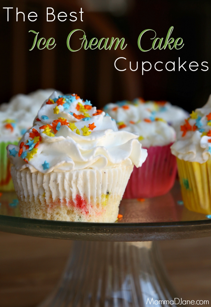 The Best Ice Cream Cake Cupcakes