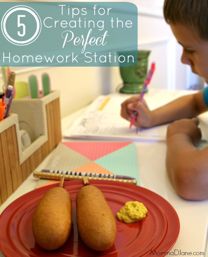 5 Tips for Creating the Perfect Homework Station