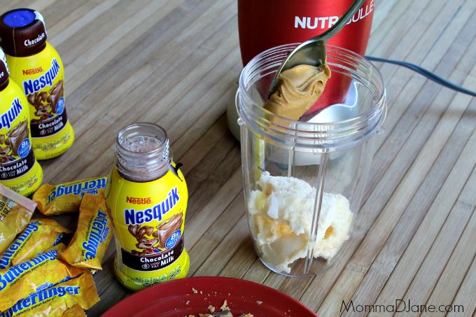 Add Peanut Butter to Shake