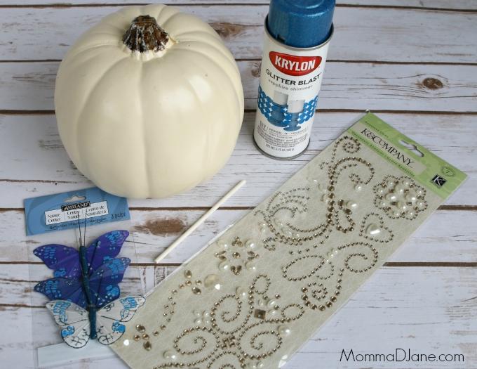 Cinderella pumpkin supplies