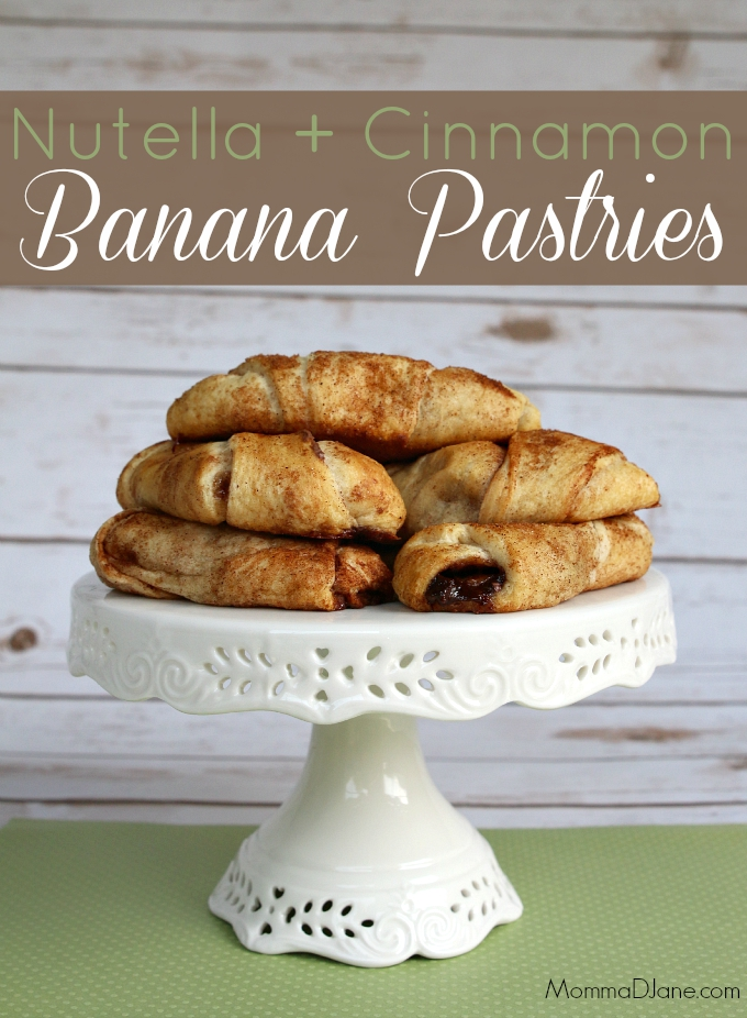 Nutella and Cinnamon Banana Pastries