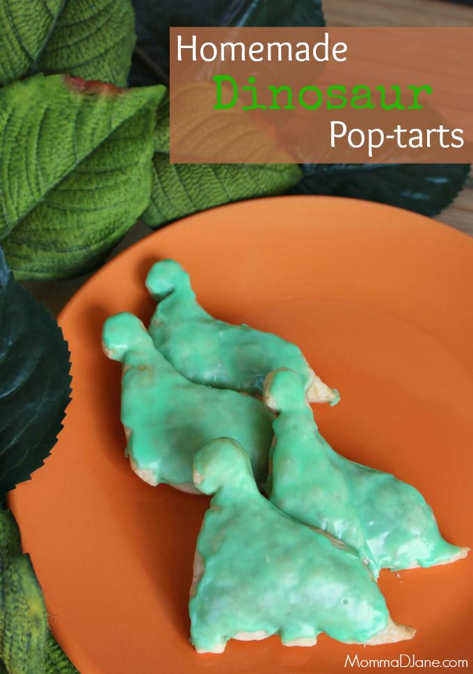 How to Make Homemade Dinosaur Pop-tart