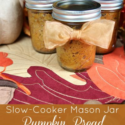 Slow-Cooker Mason Jar Pumpkin Bread