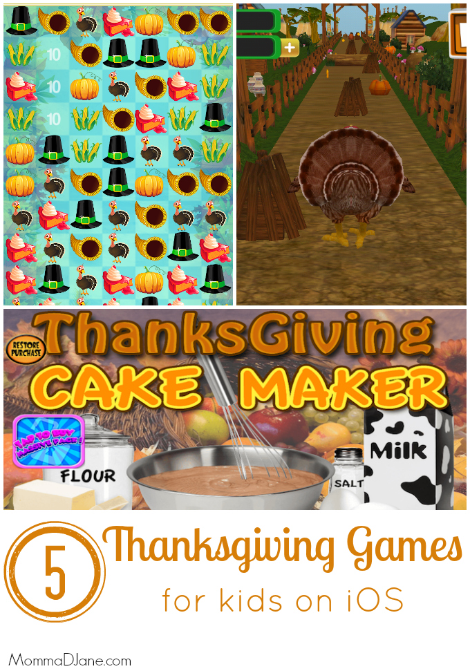 5 Thanksgiving Games for Kids